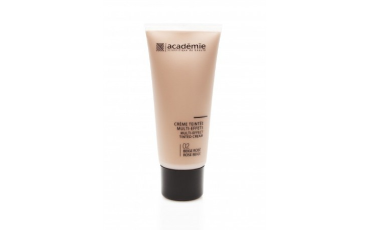 Academie Crème teintée Multi-effects - Teinte Beige rosé / Multi-effect Tinted Cream - Rose beige Shade