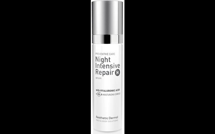 Aesthetic Dermal Night Intensive repair H serum