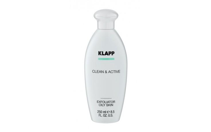 Klapp Clean & Active Exfoliator Lotion Oily Skin