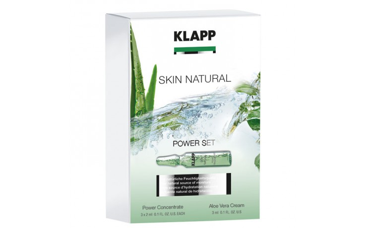Klapp Skin Natural Power Set