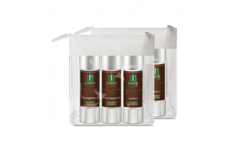 Travel Set - Over Night Peeling, Face Concentrate, Face Fluid  3