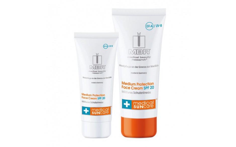 MBR Medium Protection Face Cream SPF 20 50ml
