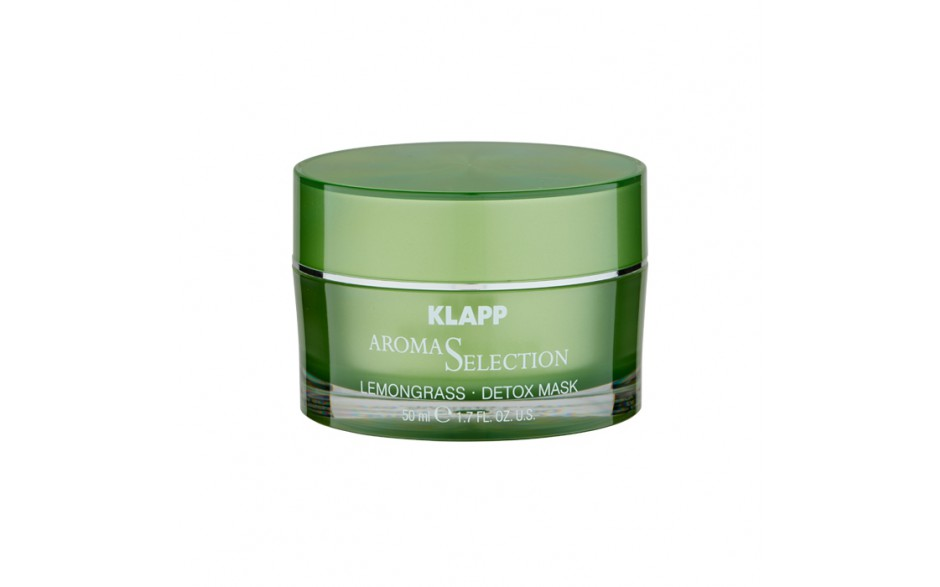 Klapp Aroma Selection Lemongrass - Detox Mask