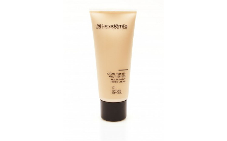 Academie Crème teintée Multi-effects - Teinte Naturel / Multi-effect Tinted Cream - Natural Shade