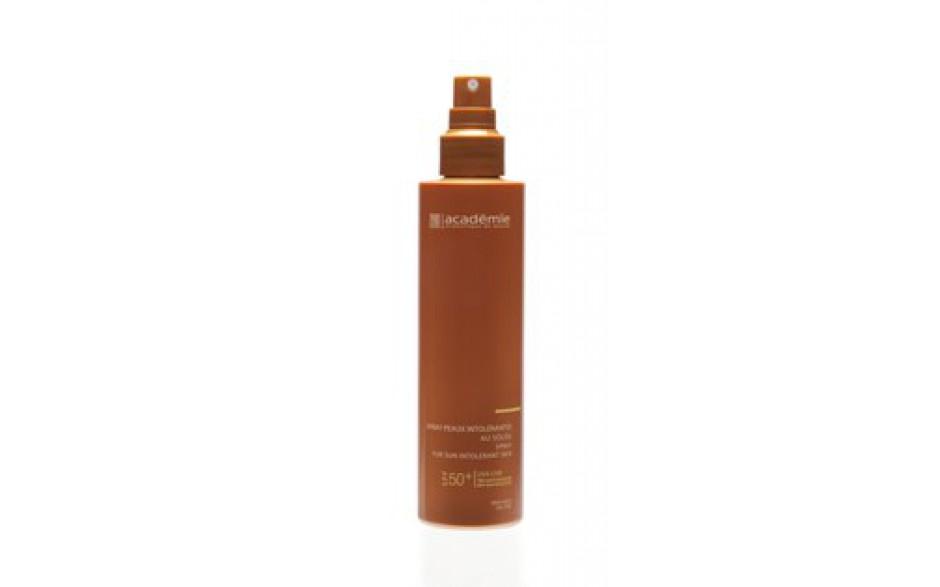 Academie Spray peaux Intolérantes au Soleil Très Haute Protection SPF50+