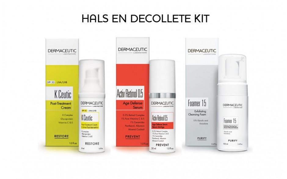 Dermaceutic Hals en Decolleté Kit