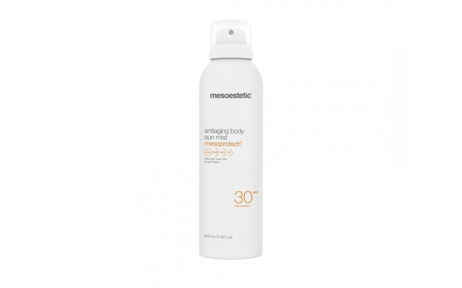 Mesoestetic Mesoprotech Antiaging Body Sun Mist 30+