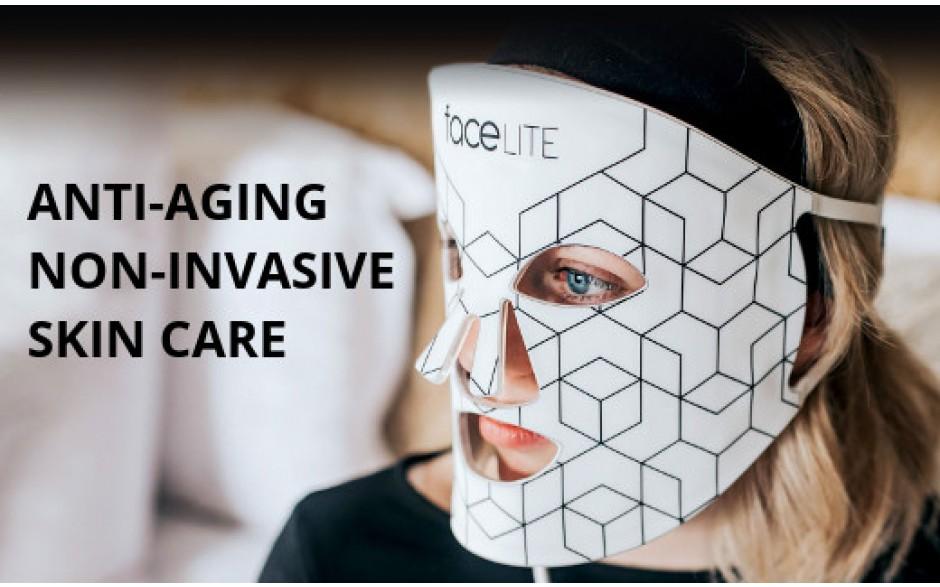 Facelite led masker voor thuisgebruik
