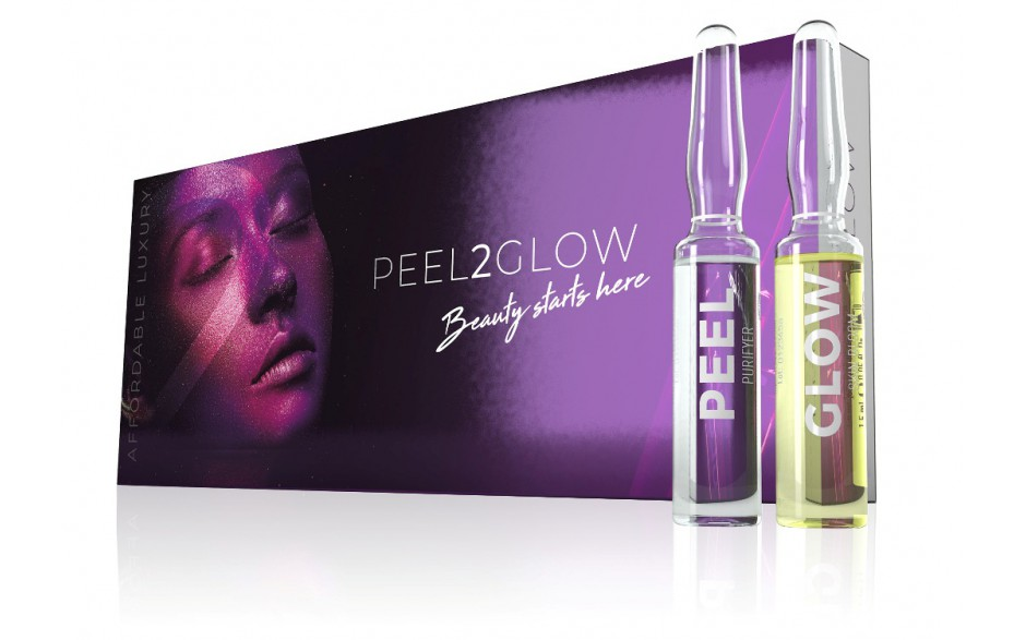 Peel2Glow Purifyer&Skin Bloom 5x2 amp.