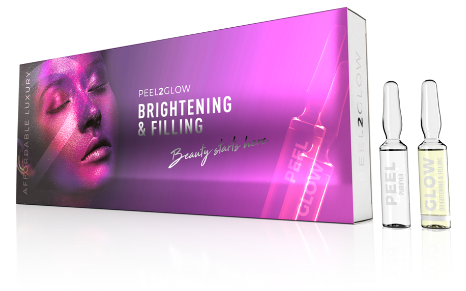 Peel2Glow Brightening & Filling 5x2 amp.
