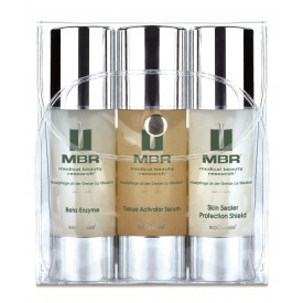 MBR Travel Set - Beta-Enzyme, Tissue Activator Serum, Skin Sealer Protection Shield 3 x 30 ml