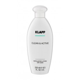 Klapp Clean & Active Exfoliator Lotion Dry Skin
