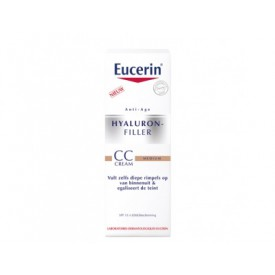Eucerin Anti-age - Hyal. CC cream medium SPF 15