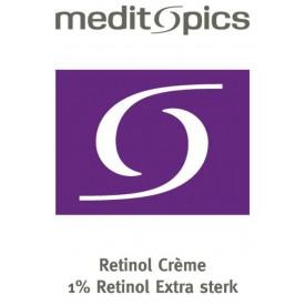 Meditopics Retinol Crème 1% - Extra Sterk