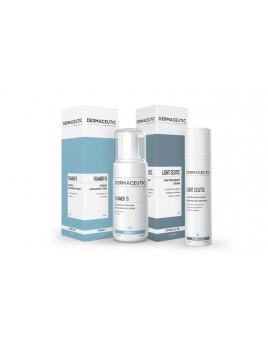Dermaceutic Aanbieding Foamer 15 en Light Ceutic